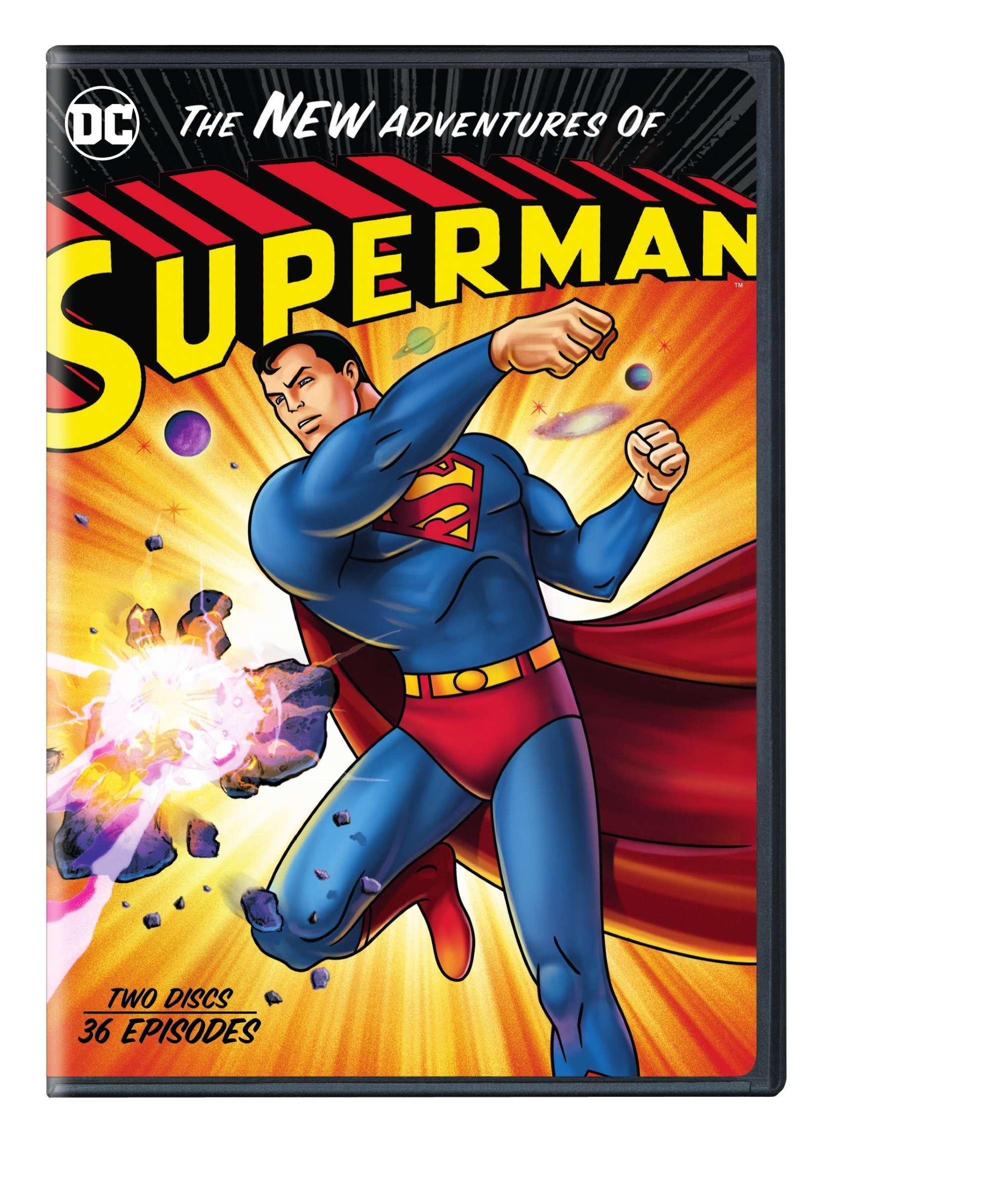 DVD : The New Adventures Of Superman (dc) (Amaray Case, Repackaged)