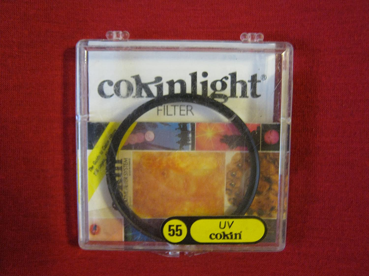 LU 055 Cokin Creative Filter System; CokinLight Round Filters; UV 55