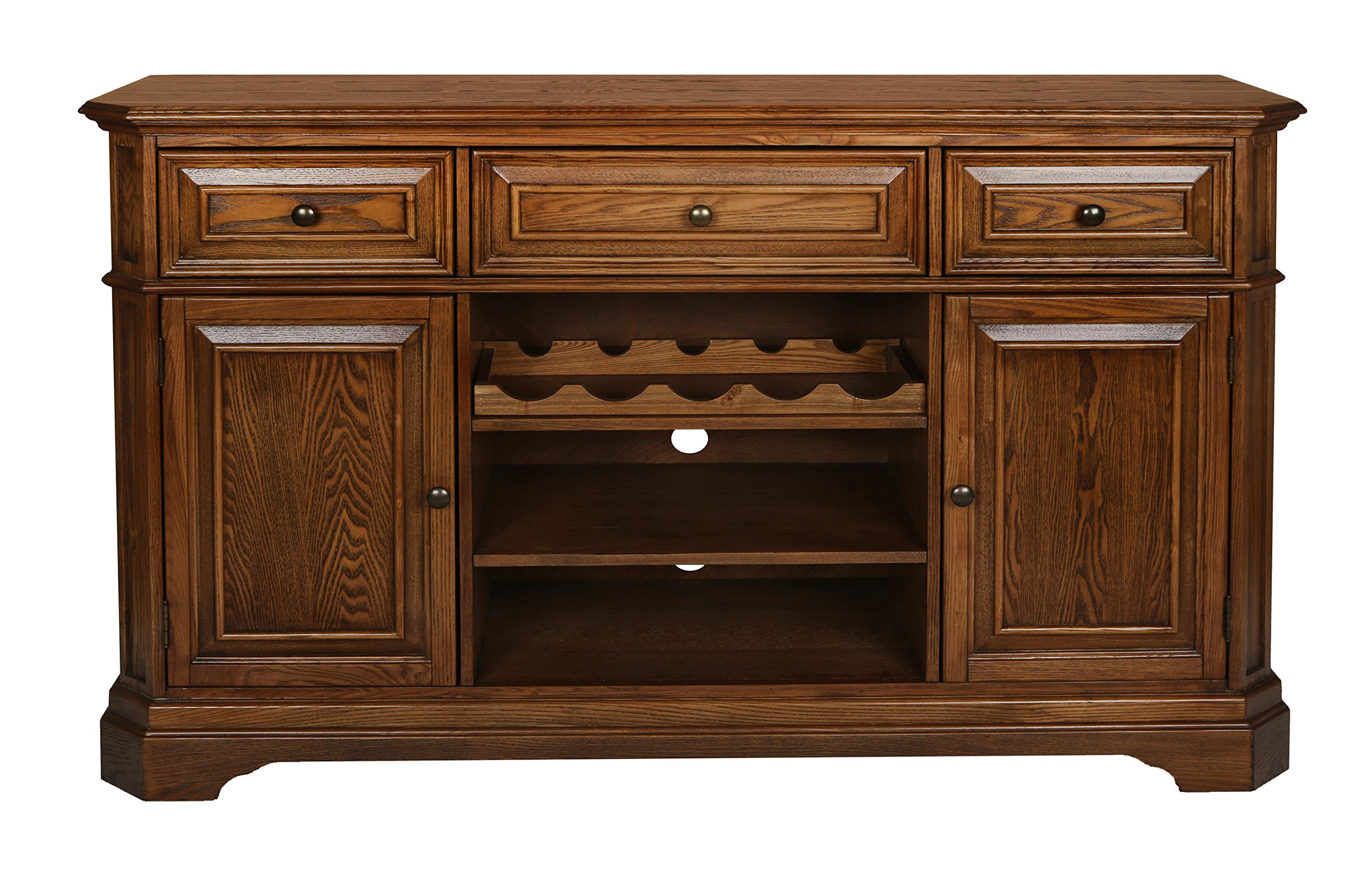 New Classic Oakridge Entertainment Tawny Console by New Classic Furniture