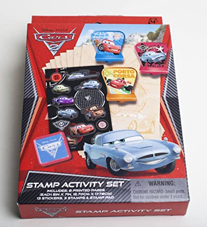Disney Pixar Cars  Fun  Stamper Activity Gift Set Baby Other Toys & Activities