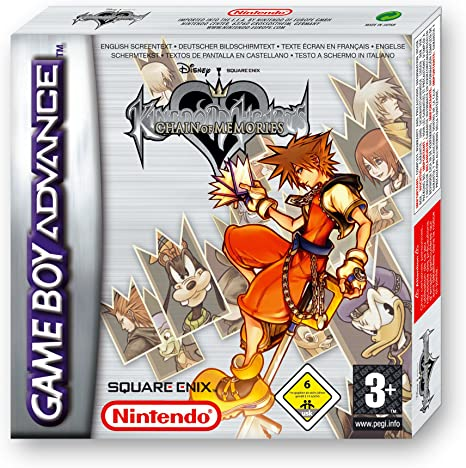 GameBoy Advance - Konsole GBA SP #Kingdom Hearts Edition: Amazon ...