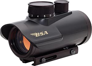 Petra Industries, Inc. - Consumer Electronics Replen BSA Optics 30mm Matte Black Finish Red Dot Sight Riflescope