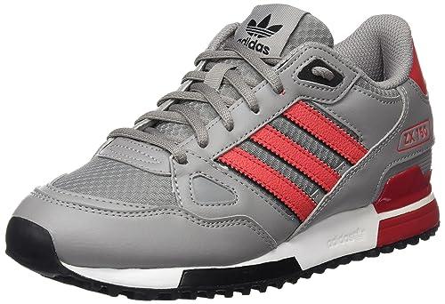 online retailer 2185a 17fd5 adidas ZX 750, Zapatillas de Deporte para Niños, Gris  (Grpuch Rojray Negbas), 36 2 3 EU  Amazon.es  Zapatos y complementos