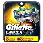 Gillette Fusion5 ProGlide Power Men's Razor Brade Refill Catridges, 8 Count