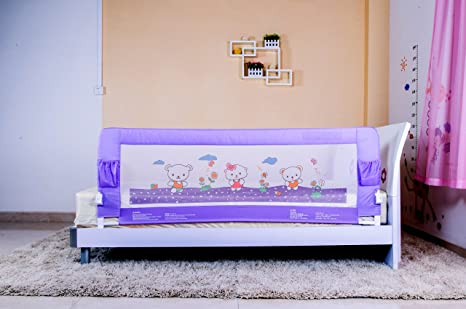 Kiddale Bedrail Extra Long 6x22 Ft Foldable Safety Guard To Protect Baby