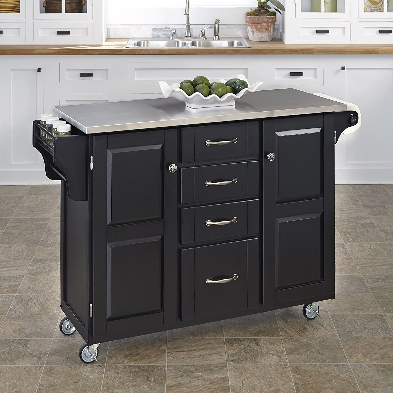 Amazon.com - Home Styles 9100-1042 Create-a-Cart 9100 Series ...