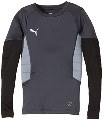 Puma - Camiseta Acolchada Infantil para Portero: Amazon.es ...