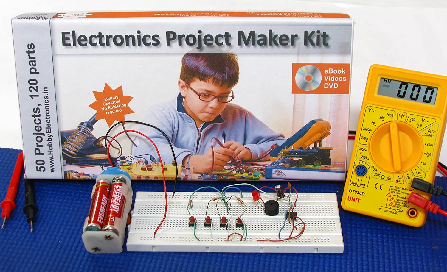 Deepak Enterprise Electronics Project Maker Kit Office Children Hobbyists Or Any Fan About Electronic Circuits Products
