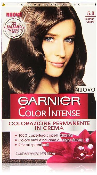 2 opinioni per Garnier Garnier Color Intense Colorazione Permanente in Crema, 5.0 Castano