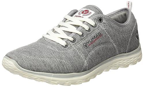 Yumas Coventry, Zapatillas para Hombre, Gris, 44 EU: Amazon.es: Zapatos y complementos