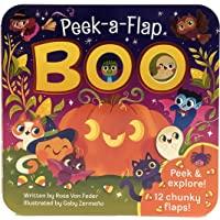 Boo Halloween Lift-a-Flap Board Book Ages 0-4 (Peek a Flap)