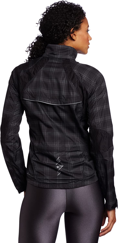 Black Plaid X-Small Pearl Izumi Womens Elite Barrier Jacket