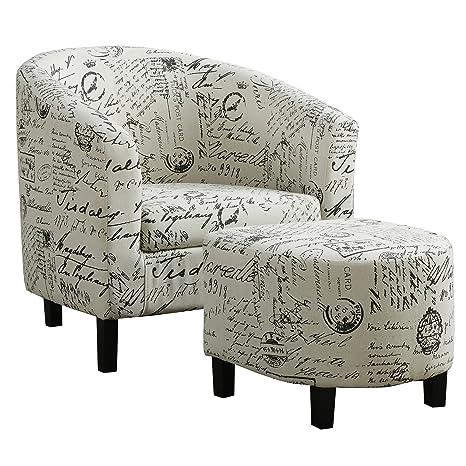 Amazon.com: Accent silla – 2pcs Set/incluye Otomano: Kitchen ...