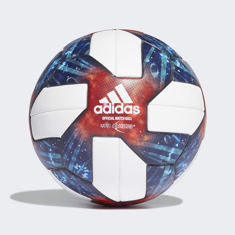 cazar Deber Armario  Amazon.com: Adidas 2019 MLS - Balón oficial para partido, color blanco,  plateado, metalizado/azul/rojo, talla 5: Sports & Outdoors