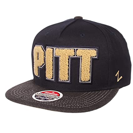 db9cab934c1 Image Unavailable. Image not available for. Color  Zephyr NCAA Pittsburgh  Panthers Men s Jock Snapback Hat