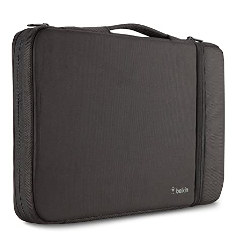 "1b2c190910bd Belkin Air Protect Sleeve with Storage Pouch for 11"" Chromebooks & Laptops  (B2A070-C01)"