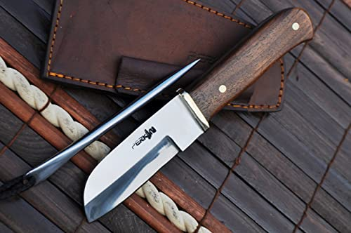 Perkin Knives- Handcrafted Hunting Knife 440c Steel Rigging Knife
