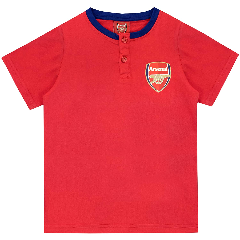 Arsenal FC Pigiama a Maniche Corta per Ragazzi Football Club