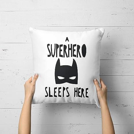 Prz0vprz0v - Funda de cojín de superhéroe para habitación de ...
