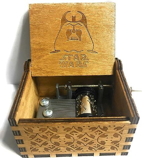 Phoenix Appeal Caja de música de madera tallada a mano con música: Juego de tronos, Harry Potter, Feliz Navidad, Bella y la Bestia, Star Wars y Moana temática regalo: Amazon.es: Hogar