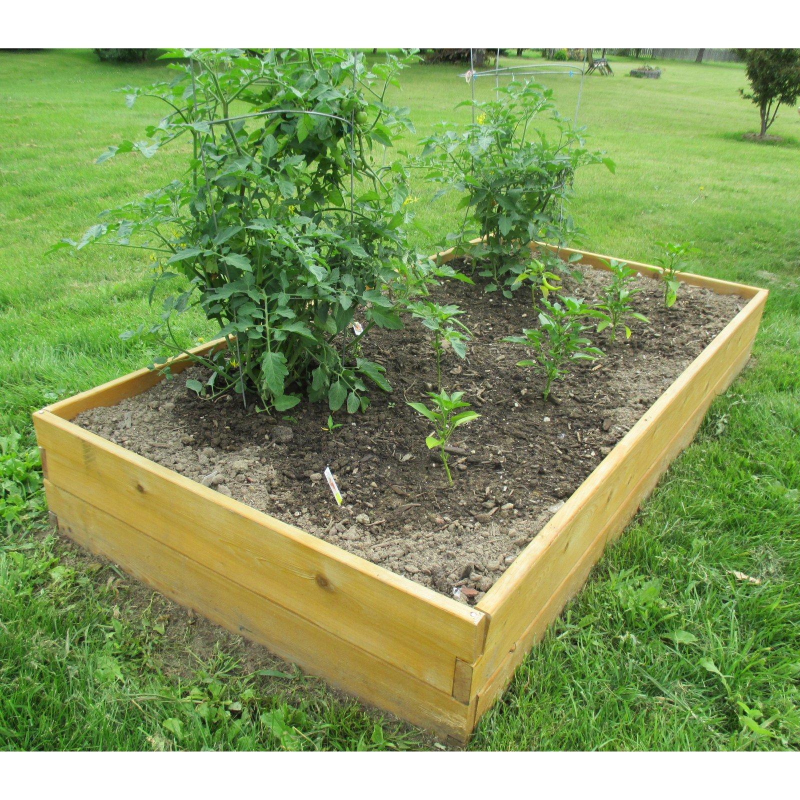 Infinite Cedar Raised Garden Bed Mk Library