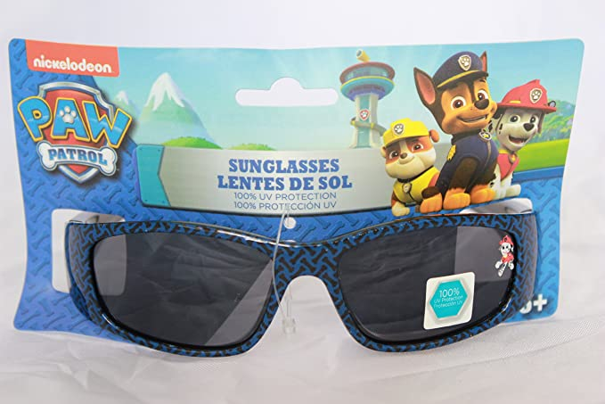 bdb7490713 Amazon.com  Global Design Concepts Paw Patrol Boys Sunglasses 100% UV  Protection  Home   Kitchen