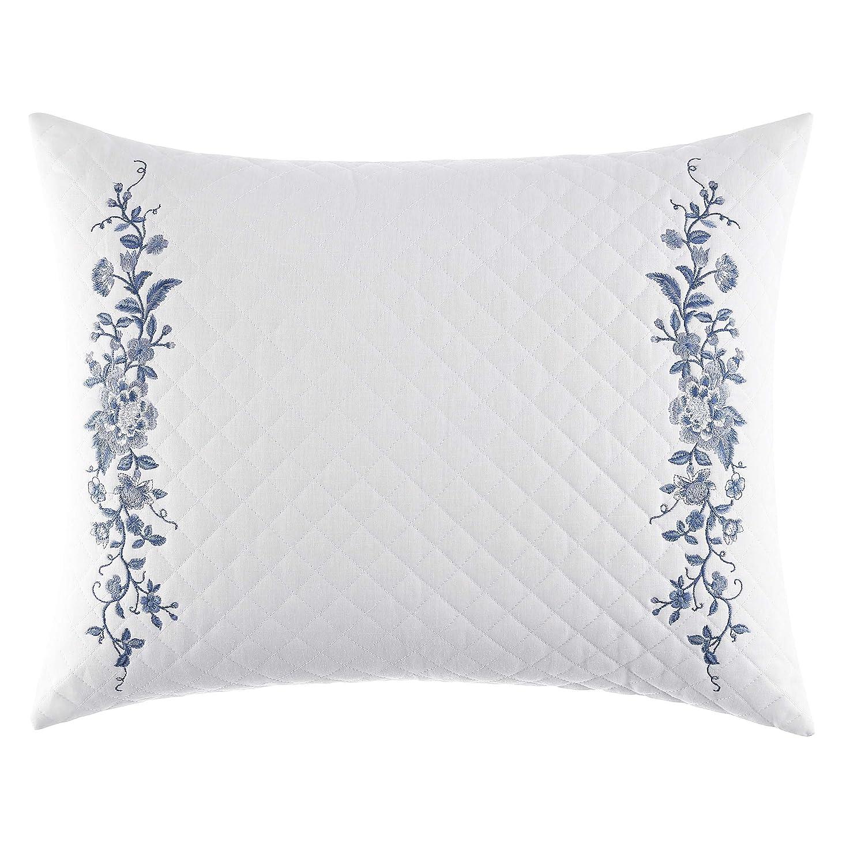 Laura Ashley Charlotte 16x20 Breakfast Pillow, Blue