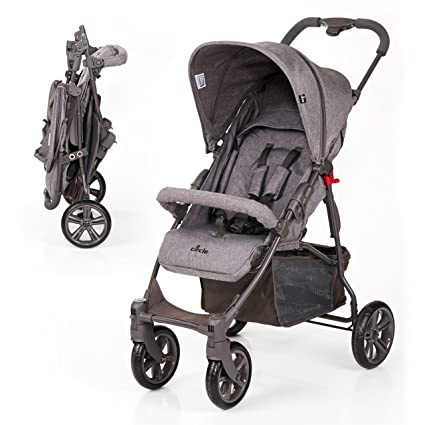ABC Design Silla de paseo / Cochecito bebé Treviso 4 - Respaldo regulable en altura,