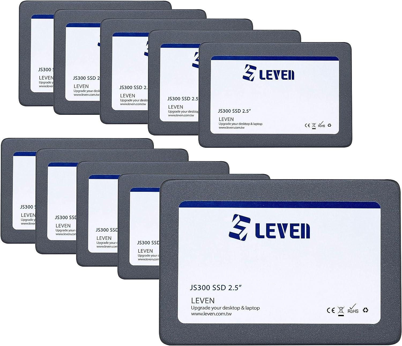 LEVEN SSD (240GBx10) 3D NAND TLC SATA III Internal Solid State Drive - 6 Gb/s, 2.5 inch /7mm (0.28