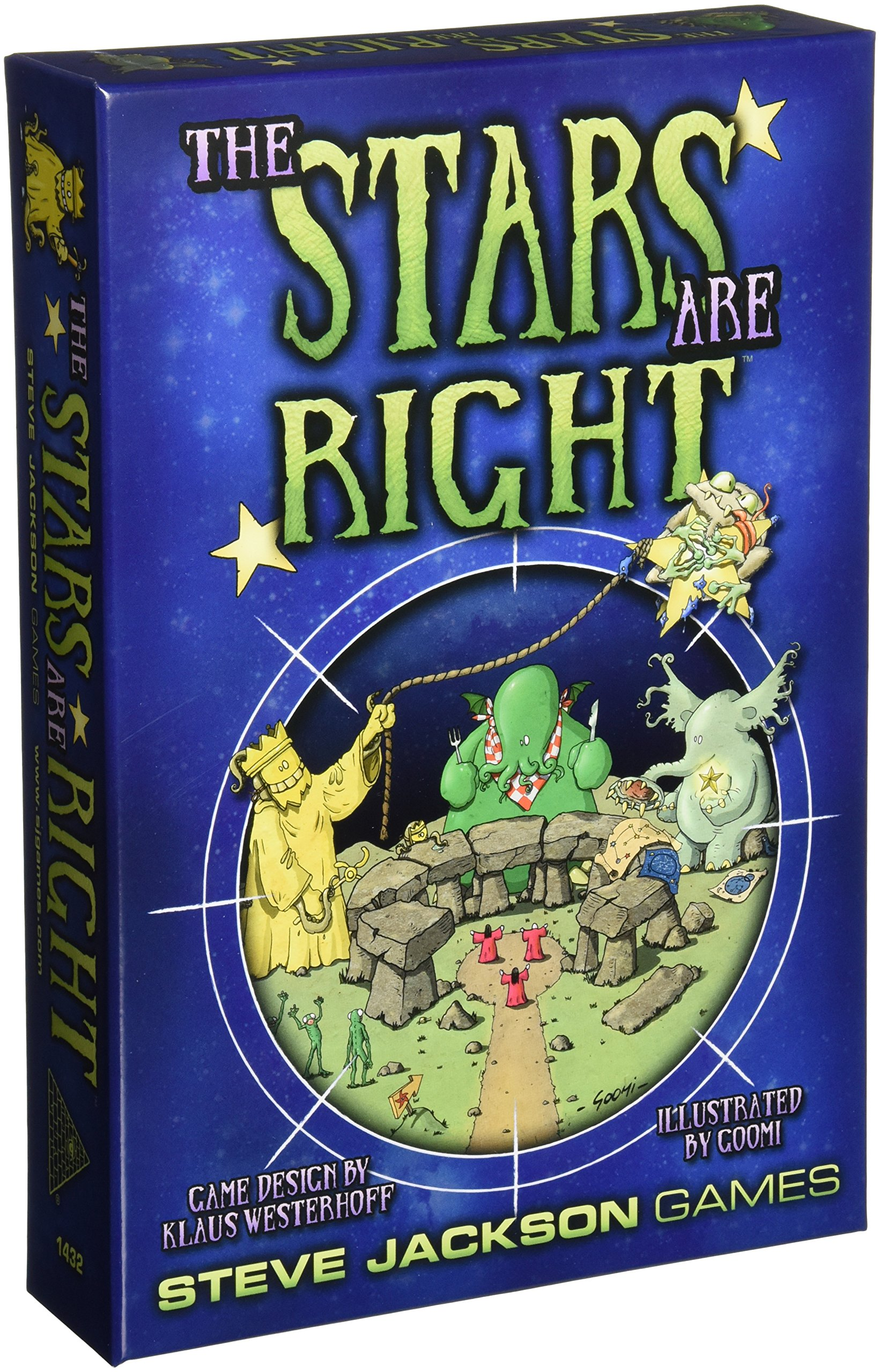 Stars Are Right Card Game by Steve Jackson Games