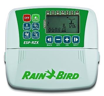 Rain Bird RZX4i Programador de riego 0.13x0.13x0.13 cm: Amazon.es: Jardín