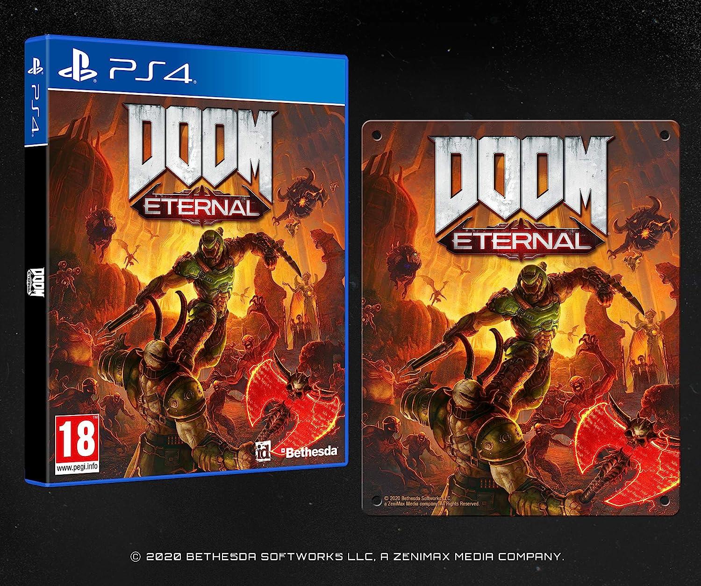 doom eternal metal plate