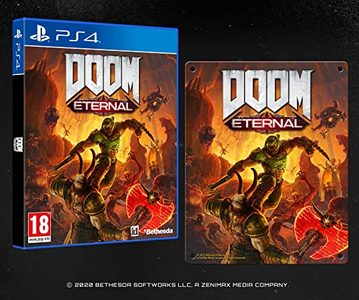 Doom Eternal - Esclusiva Amazon.It (con Poster in Metallo) - Day ...