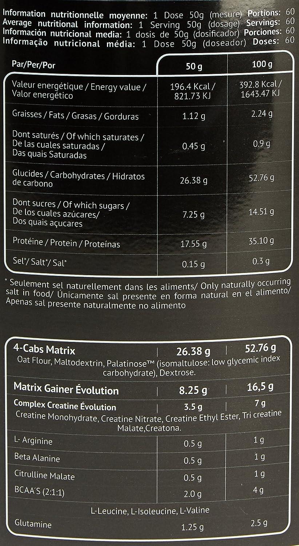 EU Nutrition Lean Mass Évolution Chocolate - 3000 gr: Amazon ...