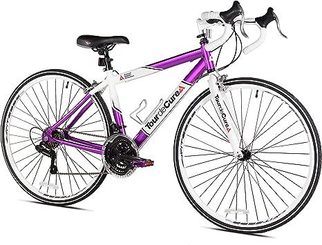 Tour de Cure Bicicleta de Carretera para Mujer, 700c: Amazon.es ...