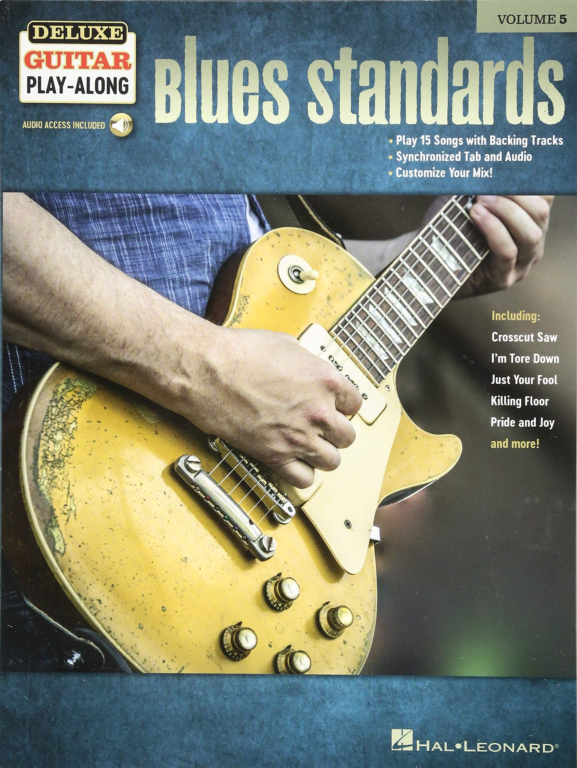 Blues Standards: Deluxe Guitar Play-Along Volume 5: Amazon.es: Hal ...