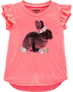 c704a491e OshKosh B'Gosh - Playera de Moda para niña: Amazon.com.mx: Ropa ...