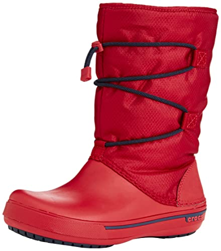 Crocs Womens Crocband II 5 Cinch Boot Shoes Pepper Navy
