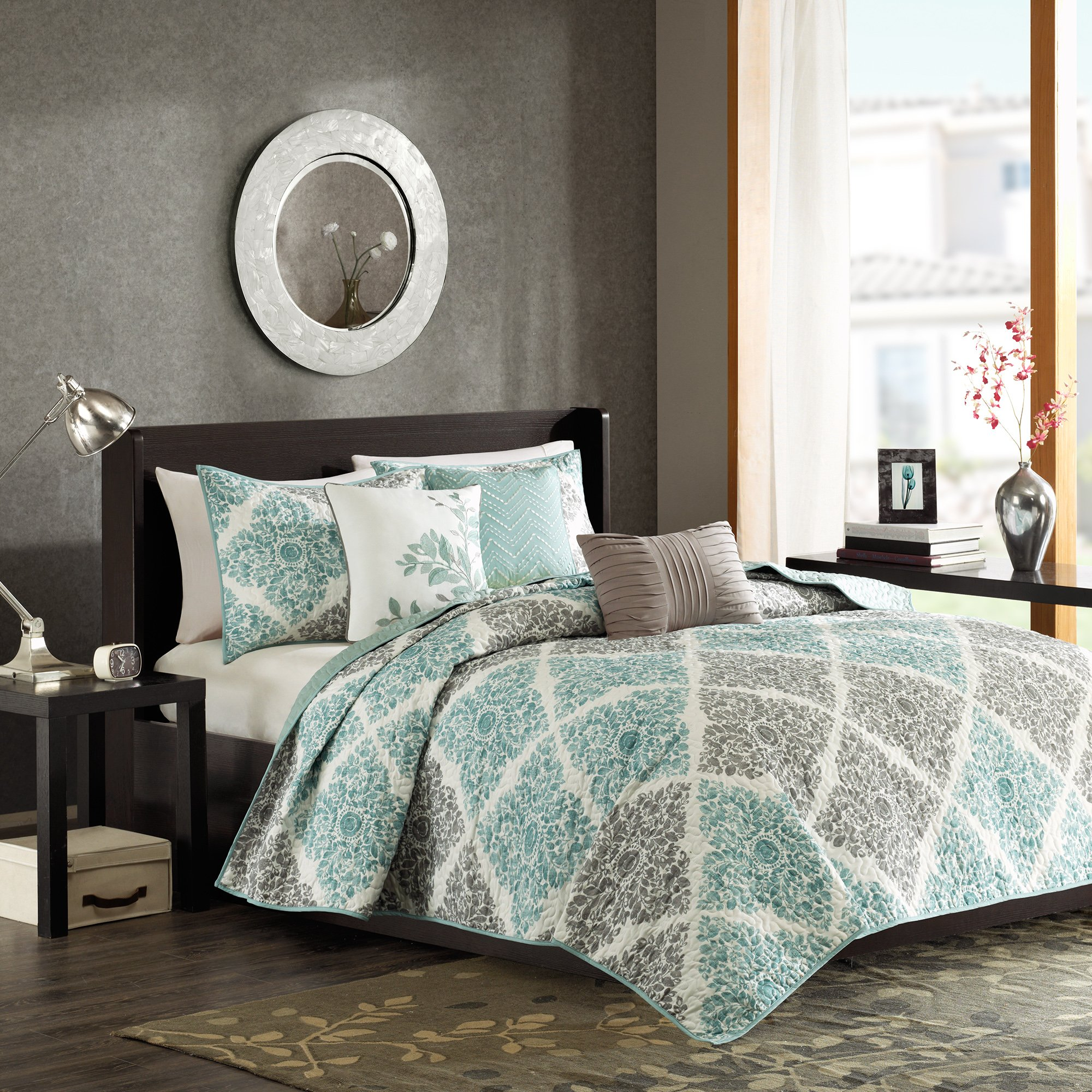image quilt reyes loading bedding quilted set is ebay bedspread home itm essence coverlet