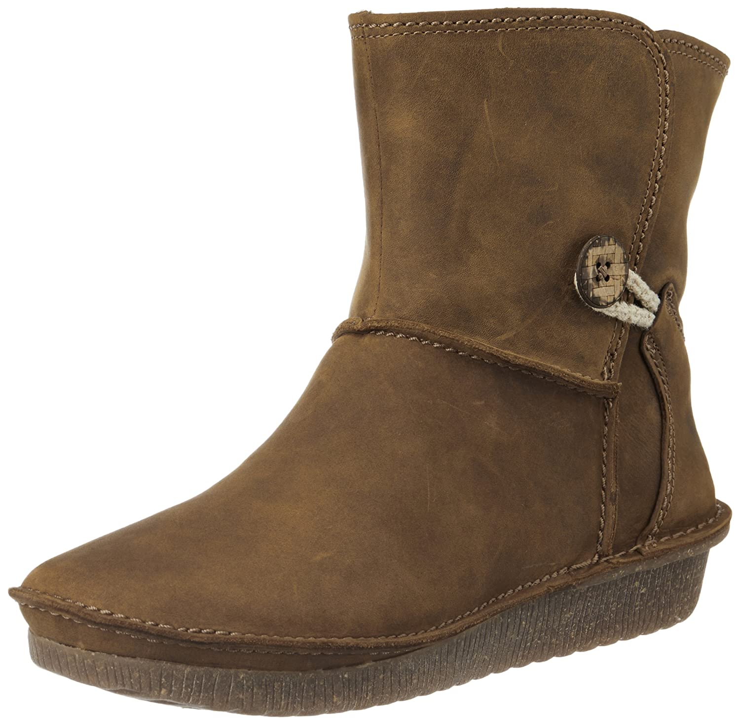 Clarks Women's Lima Caprice Leather Boots