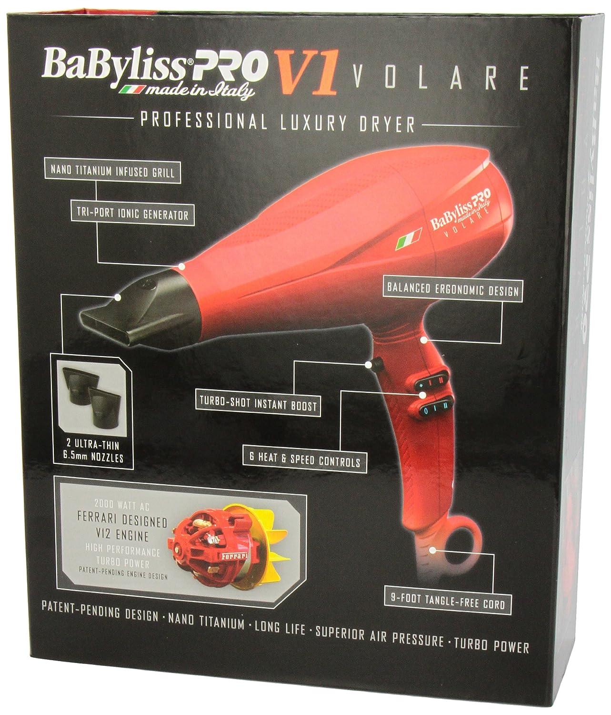 pro grande cord cordless clipper babyliss hair ferrari products red designed volare