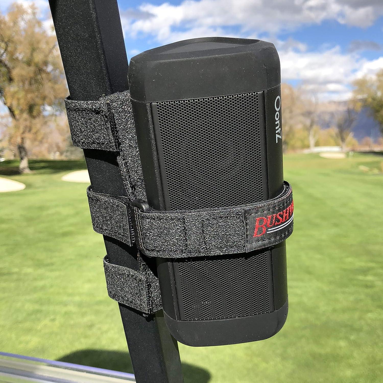 The Original Bushwhacker Portable Speaker Mount for Golf Cart Railing -...