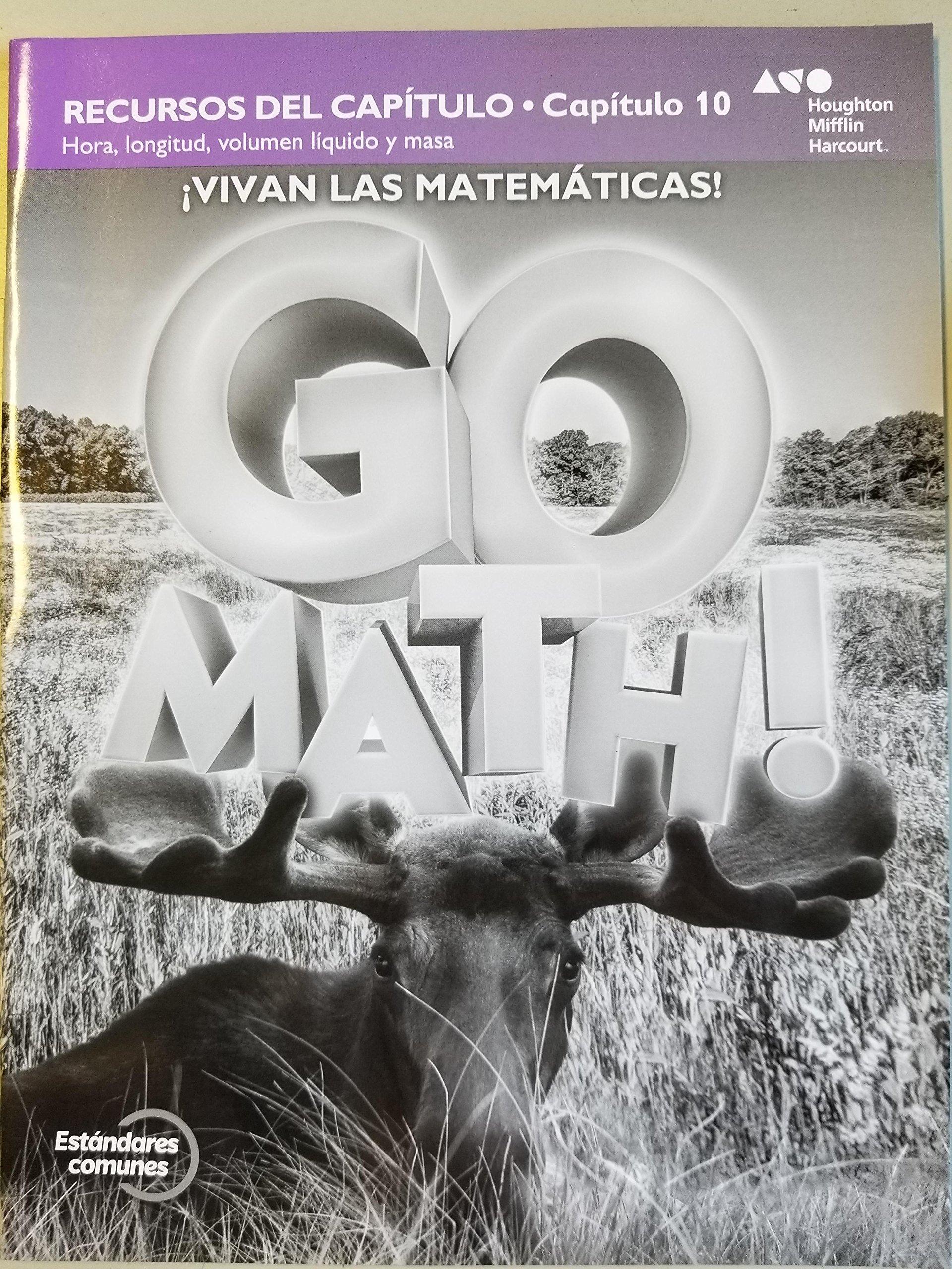 Download Vivan Las Matematicas! Go Math! Chapter Resource Chapter 10 PDF