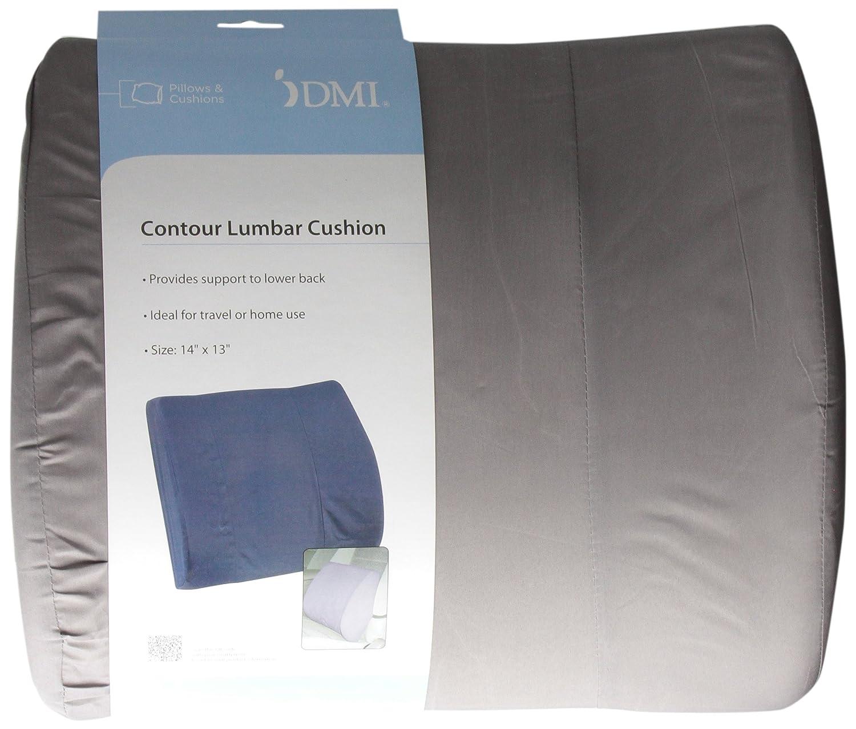 Amazon.com: Duro-Med Contour Cojín Lumbar para asientos de ...