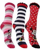 Disney Minnie Mouse Ladies/Womens Socks (Pack Of 3)