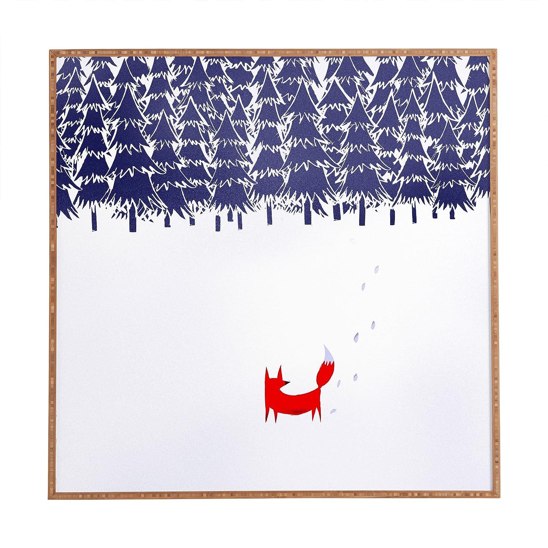 Deny Designs Robert Farkas, Elegant Forest, Framed Wall Art, Medium, 20' x 20' 20 x 20 15302-frwamd