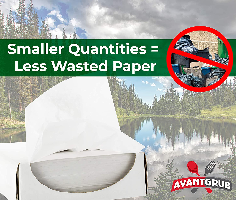 Amazon.com: Avant Grub, 1000 unidades de papel de hamburgos ...