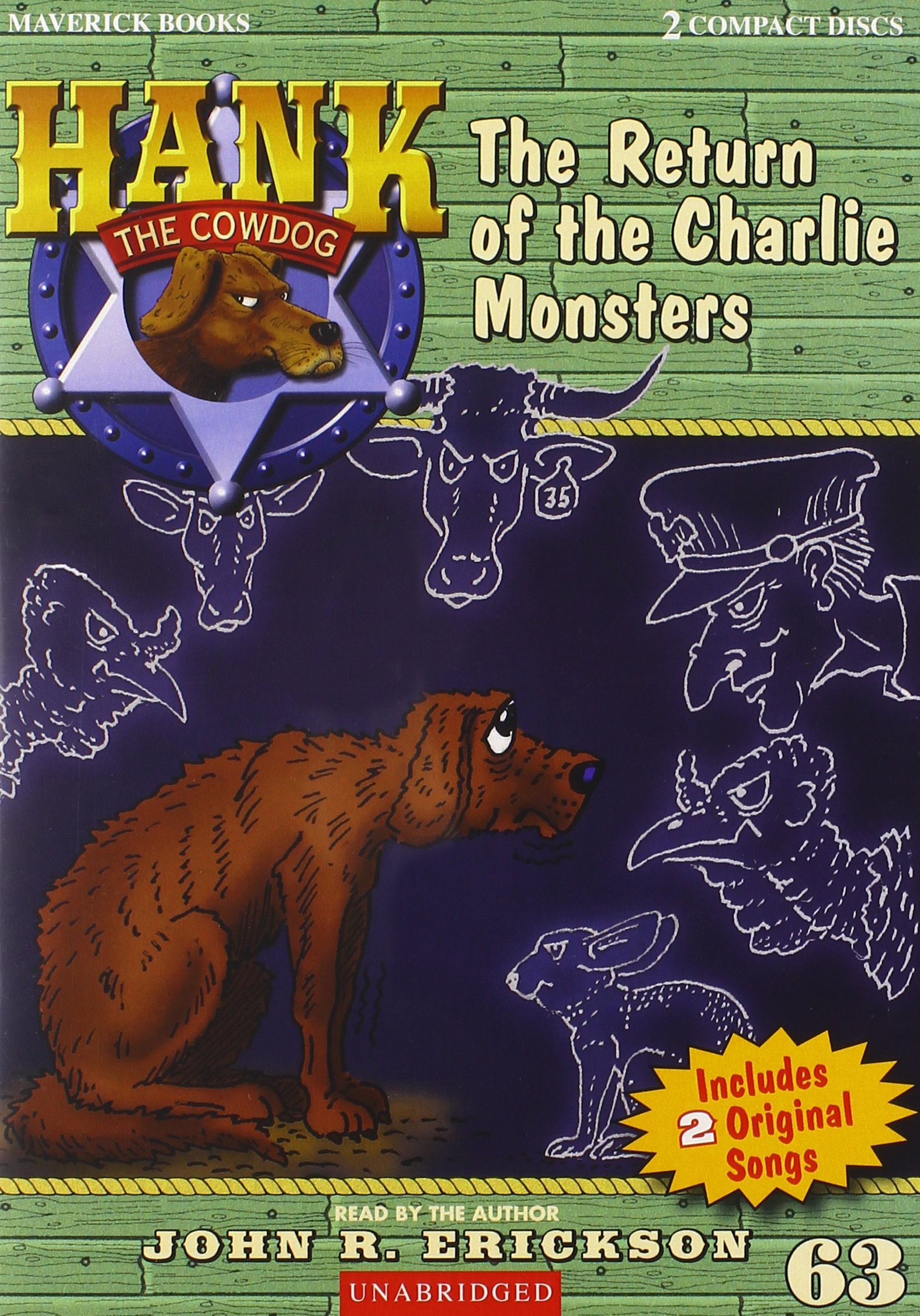 The Return of the Charlie Monsters (Hank the Cowdog)