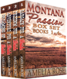 Mail Order Bride - Montana Passion 4 Book Box Set: Sweet Clean Historical Cowboy Western Romance Anthology