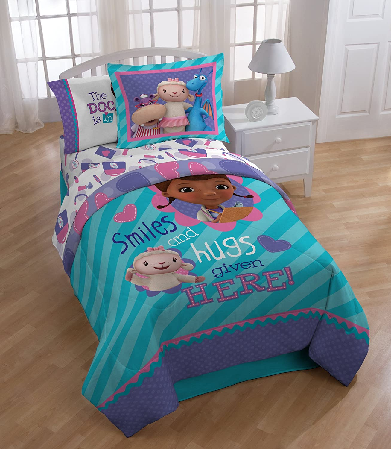 doc mcstuffins bedroom set doc mcstuffin reversible comforter set bedding 15192